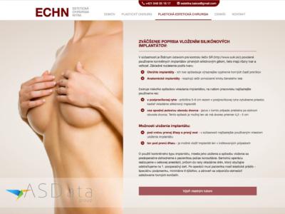Estetickachirurgia.eu - MUDr. Peter Bakoš, webová stránka estetickej chirurgie