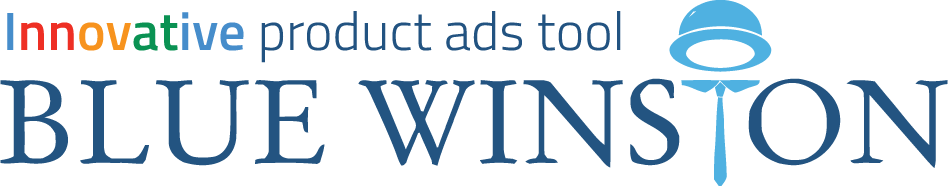 BlueWinston - innovative product ads tool for Google Search logo